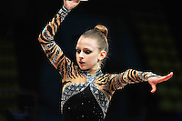 "JASMINE KERBER of USA (junior) performs at 2011 World Cup Kiev, ""Deriugina Cup"" in Kiev, Ukraine on May 06, 2011."