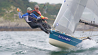 ENGLAND, Falmouth, Restronguet Sailing Club, 8th September 2009, International 14 Prince of Wales Cup Week, GBR1523 Rollo Pyper
