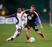 Perry Kitchen, Robbie Findley.  D.C. United defeated Real Salt Lake, 1-0, at RFK Stadium.