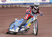 Lakeside Hammers co-promoter Jon Cook tries a couple of laps during the Press and Practice day - Lakeside Hammers Press Day at The Arena Essex Raceway, Thurrock - 07/03/07 - MANDATORY CREDIT: Rob Newell/TGSPHOTO