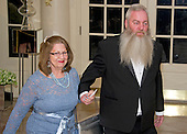 Twila Legare, letter writer and Marc Legare arrive for the State Dinner in honor of Prime Minister Trudeau and Mrs. Sophie Gr&eacute;goire Trudeau of Canada at the White House in Washington, DC on Thursday, March 10, 2016.<br /> Credit: Ron Sachs / Pool via CNP