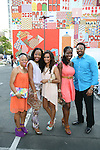 Guests Attend Bikini Under The Bridge 2013 Fashion Show Held in BAM Parking Lot, Brooklyn NY