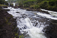 Boiling Pots in the Wailuku River State Park on the Big Island of Hawaii