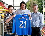 St Johnstone Players Sponsors Night, McDiarmid Park...09.05.12.Fran Sandaza.Picture by Graeme Hart..Copyright Perthshire Picture Agency.Tel: 01738 623350  Mobile: 07990 594431