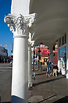Colums at Venice Beach, California