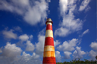 South Point Lighthouse, Barbados, Lesser Antilles, Caribbean Sea  Atlantic Ocean