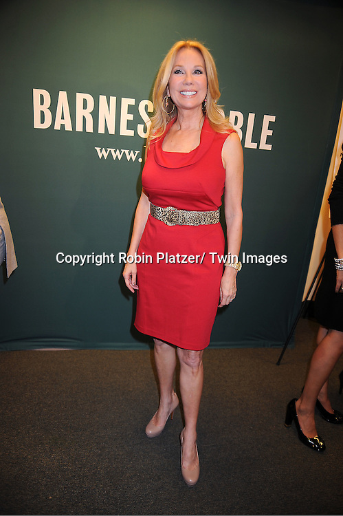 """Kathie Lee Gifford attends the book signing for """"From Yesterday to TODAY"""" ..on November 17, 2011 at Barnes & Noble on 5th Avenue in New York City."""