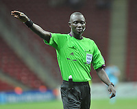Referee's Bakary Gassama during their FIFA U-20 World Cup Turkey 2013 Group Stage Group A soccer match USA U20 betwen Spain at the Kadir Has stadium in Kayseri on June 21, 2013. Photo by Aykut Akici/isiphotos.com