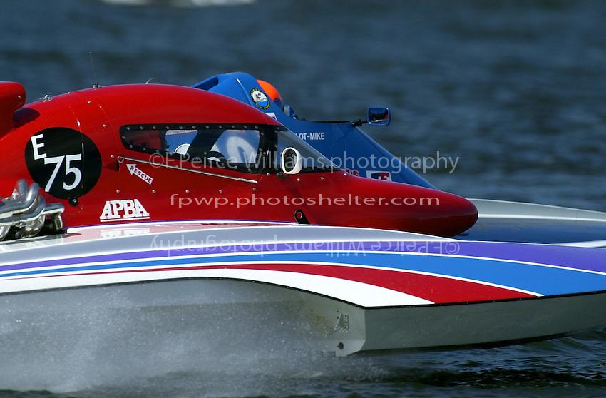 E-75 and E-40  (5 Litre class hydroplane(s)