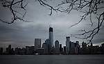 General view of One World Trade Center during the Mayans end of the World day in New York, United States. 21/12/2012. Photo by Kena Betancur / ViEWpress