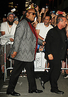 NEW YORK, NY-August 03: Stevie Wonder at Tony Bennett Birthday party in honor of 90 years of Musical Legacy  at the Rainbow Room in New York. NY August 03, 2016. Credit:RW/MediaPunch