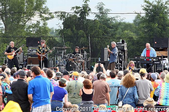 "June 4, 2011 Augusta, N.J.: The Radiators perform ""Michael Arnone's Crawfish Festival"" on Sussex County Fairgrounds on June 4, 2011 in Augusta, N.J."