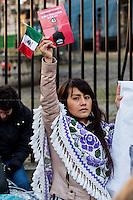 03.03.2015 - Protest Against The President of Mexico Enrique Peña Nieto