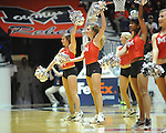 "Rebelettes dance at Ole Miss vs. Arkansas Little Rock at the C.M. ""Tad"" Smith Coliseum in Oxford, Miss. on Friday, November 16, 2012. Ole Miss won 92-52."