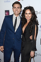 LOS ANGELES, CA - OCTOBER 16: Colt Prattes and Angelina Mullins at the National Breast Cancer Coalition Fund's 16th Annual Les Girls Cabaret at Avalon Hollywood on October 16, 2016 in Los Angeles, California. Credit: David Edwards/MediaPunch