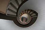 Circular staircase at Point Loma Lighthouse
