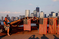 Ten years on from the day the 9/11 terrorist attacks From Los Angeles to New York, formal ceremonies are planned to remember the nearly 3,000 who perished from more than 90 countries. New York september 2011.VP/Kena Betancur