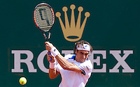 David FERRER (ESP) against Ivan LJUBICIC (CRO) in the third round. David Ferrer beat Ivan Ljubicic 6-0 7-6..International Tennis - 2010 ATP World Tour - Masters 1000 - Monte-Carlo Rolex Masters - Monte-Carlo Country Club - Alpes-Maritimes - France..© AMN Images, Barry House, 20-22 Worple Road, London, SW19 4DH.Tel -  + 44 20 8947 0100.Fax - + 44 20 8947 0117