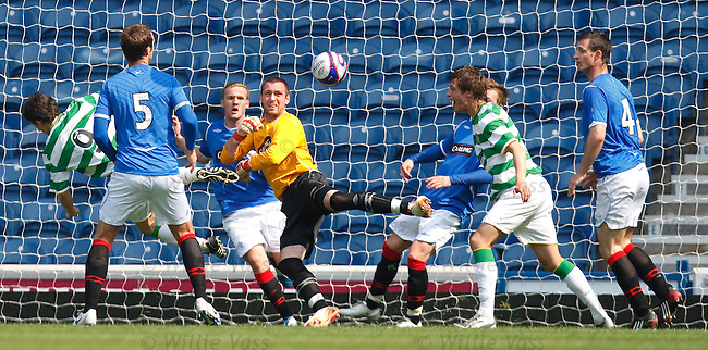 Allan McGregor paws the ball away from danger