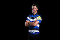 Adam Hastings poses for a portrait at a Bath Rugby photocall. Bath Rugby Media Day on August 24, 2016 at Farleigh House in Bath, England. Photo by: Rogan Thomson / JMP / Onside Images
