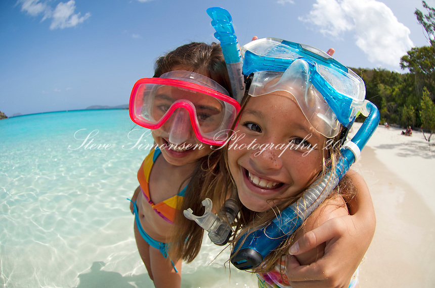 Snorkeling Gear For Kids Kids With Snorkel Gear at The