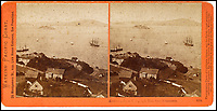 BNPS.co.uk (01202 558833)<br /> Pic: Bonhams/BNPS<br /> <br /> Alcatraz, from Telegraph Hil, the prison was built 50 years later.<br /> <br /> A stunning collection of photos of San Francisco in the 1860s have been unearthed after 150 years.<br /> <br /> The fascinating images show the distinctive street scenes of the city 70 years before the iconic Golden Gate Bridge became its most celebrated landmark and 50 years before the infamous Alcatraz prison was built.<br /> <br /> Included in the collection of 247 images are photos of the Golden Gate, Alcatraz, Russian Hill, the Waterfront and Woodward's Gardens.<br /> <br /> The city which is universally known for its treacherously steep hills and spectacular scenery was captured in all its glory by American photographer Carleton E. Watkins.