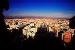 The city of Barcelona from La Sagrada Familia.