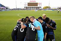 San Jose, CA - Wednesday May 17, 2017: San Jose Earthquakes  prior to a Major League Soccer (MLS) match between the San Jose Earthquakes and Orlando City SC at Avaya Stadium.