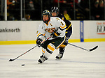 30 December 2007: University of Vermont Catamounts' forward Dean Strong, a Junior from Mississauga, Ontario, in action against the Quinnipiac University Bobcats at Gutterson Fieldhouse in Burlington, Vermont. The Bobcats defeated the Catamounts 4-1 to win the Sheraton/TD Banknorth Catamount Cup Tournament...Mandatory Photo Credit: Ed Wolfstein Photo