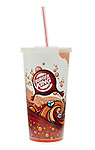 Burger King Cola Drink with Straw - Jan 2012