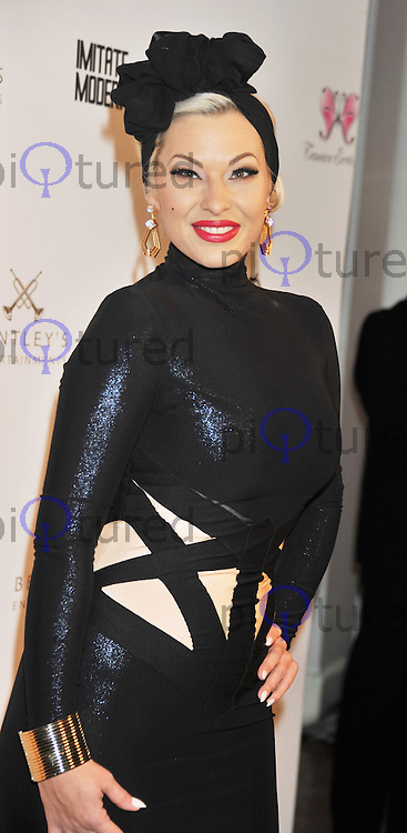 Immodesty Blaize attends as Tamara Ecclestone hosts annual dinner to raise funds for Great Ormond Street Children's Hospital at One Marylebone in London.