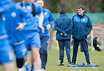 St Johnstone Training&hellip;14.04.17<br />Tommy Wright talks with Callum Davidson during training at McDiarmid Park this morning ahead of tomorrow&rsquo;s game against Aberdeen.<br />Picture by Graeme Hart.<br />Copyright Perthshire Picture Agency<br />Tel: 01738 623350  Mobile: 07990 594431