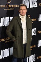 Chad Michael Murray at the premiere of &quot;John Wick Chapter Two&quot; at the Arclight Theatre, Hollywood. <br /> Los Angeles, USA 30th January  2017<br /> Picture: Paul Smith/Featureflash/SilverHub 0208 004 5359 sales@silverhubmedia.com
