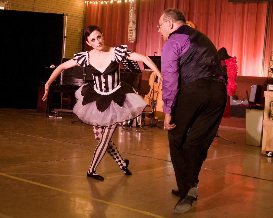 [Photo by Karen Kring] Cambalache, the story of Joe and his mysterious second-hand shop, is a tango theater show created, written and choreographed by Jorge Niedas & Liz Sung. Filled with music, dance, laughter and storytelling, the show includes performances by Niedas, Sung, other members of Tango 21 Dance Theater, Chicago Tango Jam and vocals by Rose Cuccione.