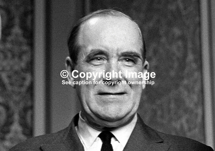 Lord Caradon, Life Peer, aka Hugh Foot, UK Permanent Representative at the United Nations. 196801000028b.<br />