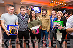 Collecting and supporting at the Dromid GAA Strictly Come Dancing nigh in the Sea Lodge, Waterville were l-r; Chris Farley, John O'Shea, Martina Sheehan, Aidan O'Connor, Michéal Sheehan & Eileen O'Connor.