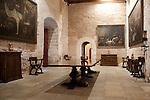 Interior of Almudaina - Almudena Palace; Palma, Majorca - Mallorca; Spain