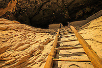 Gila Ladder - Gila Cliff Dwelling - New Mexico