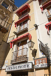 Los Arcos Restaurant, Plaza Mayor Square, Cuenca, Spain