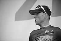 Lars Boom (NLD) on the podium<br /> <br /> 2013 Ster ZLM Tour <br /> stage 4: Verviers - La Gileppe (186km)