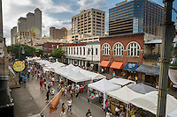 The Old Pecan Street Festival is the largest central Texas street festival and has become a spring and fall tradition by reflecting the current interests of the unique citizens in Austin, Texas.