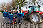 Students from St Michael's Secondary School Listowel had a very informative talk on Farm Safety on Friday afternoon. Pictured were: Sean Hunt, Darragh Behan, James Collins, Gavin O'Connor, William Shortall (IFA), Michael Carmody, Fiona Griffin (teacher), Denis Griffin (IFA), Mikey Murphy, Michéal Kirby and Padraig Hunt.