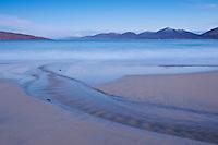 Morning light over Luskentyre beach, Isle of Harris, Outer Hebrides, Scotland