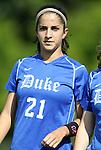 09 September 2011: Duke's Gilda Doria. The Duke University Blue Devils defeated the Texas A&M Aggies 7-2 at Koskinen Stadium in Durham, North Carolina in an NCAA Division I Women's Soccer game.