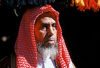 Bedouin arab man in Saudi Arabia