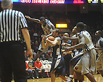 "Ole Miss forward Terrance Henry (1) is stripped of the ball by East Tennessee State's Mike Smith (1) at the C.M. ""Tad"" Smith Coliseum in Oxford, Miss. on Saturday, December 18, 2010. Ole Miss won 71-50."