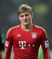FUSSBALL   1. BUNDESLIGA   SAISON 2012/2013    22. SPIELTAG VfL Wolfsburg - FC Bayern Muenchen                       15.02.2013 Toni Kroos (FC Bayern Muenchen)