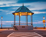 The Reinstein Bandstand on Revere Beach, Revere, MA, USA