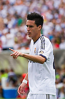 Jose Maria Callejon (21) of Real Madrid. Real Madrid defeated Celtic F. C. 2-0 during a 2012 Herbalife World Football Challenge match at Lincoln Financial Field in Philadelphia, PA, on August 11, 2012.