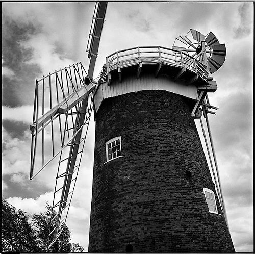 Horsey Windpump VII, Norfolk 2013 by Paul Cooklin